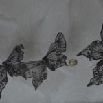 guirlande chambre papillon