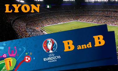 b&b euro 2016 lyon